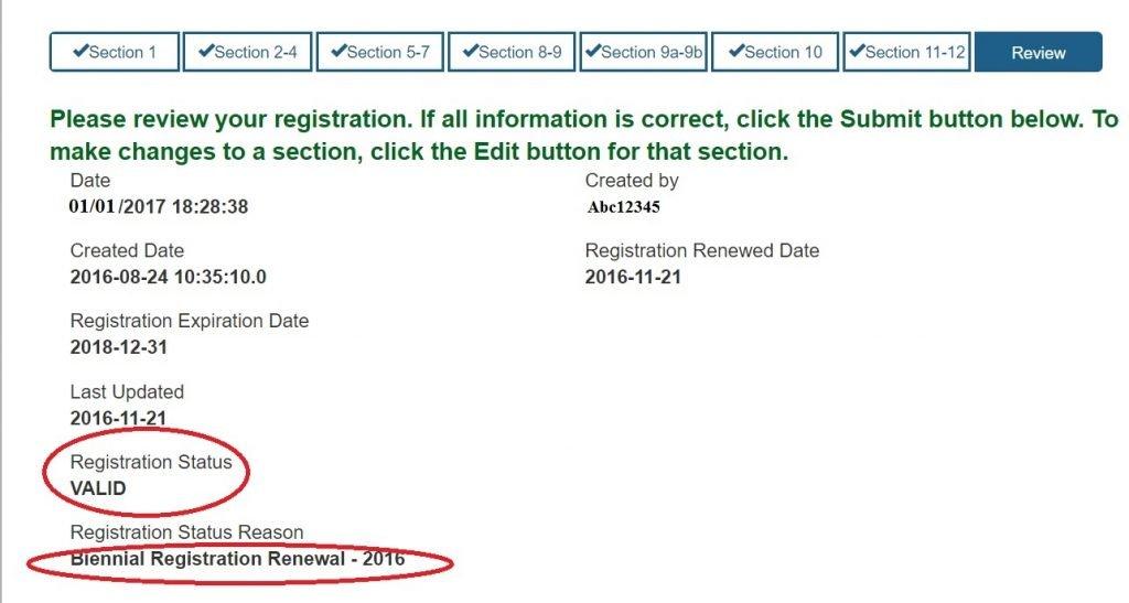 Surplus FDA Registration Certificates Issue Finally Resolved