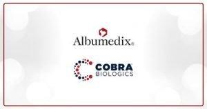 Albumedix and Cobra Biologics Research viral vector manufacturing